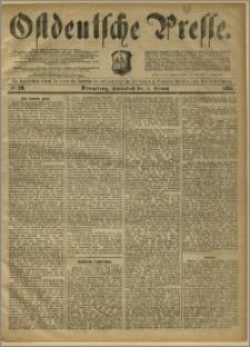 Ostdeutsche Presse. J. 8, 1884, nr 28