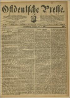 Ostdeutsche Presse. J. 8, 1884, nr 61