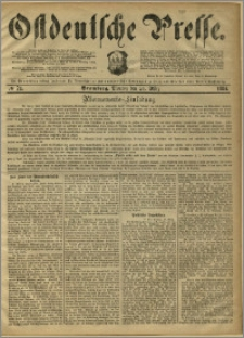 Ostdeutsche Presse. J. 8, 1884, nr 71