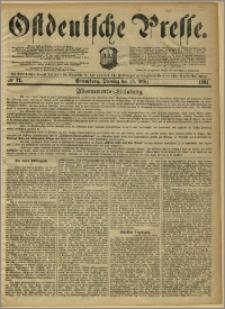 Ostdeutsche Presse. J. 8, 1884, nr 72