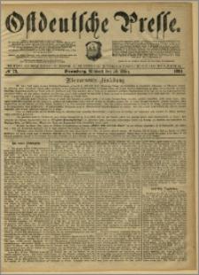 Ostdeutsche Presse. J. 8, 1884, nr 73
