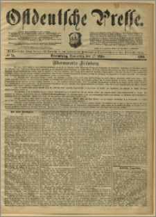 Ostdeutsche Presse. J. 8, 1884, nr 74