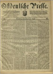Ostdeutsche Presse. J. 8, 1884, nr 195