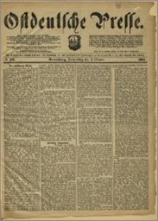 Ostdeutsche Presse. J. 8, 1884, nr 231