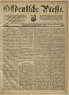 Ostdeutsche Presse. J. 8, 1884, nr 233