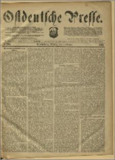 Ostdeutsche Presse. J. 8, 1884, nr 234