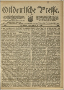 Ostdeutsche Presse. J. 8, 1884, nr 243