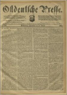 Ostdeutsche Presse. J. 8, 1884, nr 245