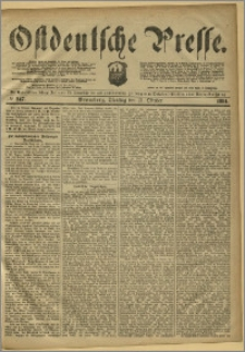 Ostdeutsche Presse. J. 8, 1884, nr 247