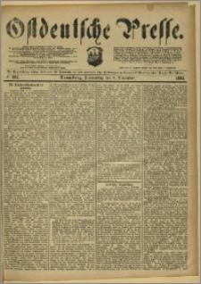 Ostdeutsche Presse. J. 8, 1884, nr 261