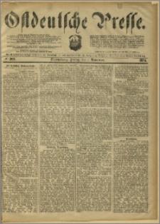 Ostdeutsche Presse. J. 8, 1884, nr 262