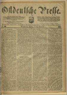 Ostdeutsche Presse. J. 8, 1884, nr 268