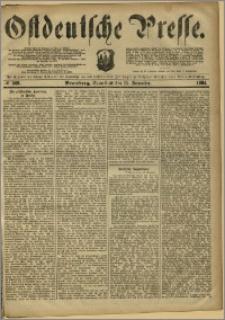 Ostdeutsche Presse. J. 8, 1884, nr 269