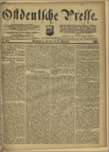 Ostdeutsche Presse. J. 8, 1884, nr 274