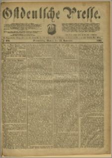 Ostdeutsche Presse. J. 8, 1884, nr 276