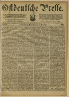 Ostdeutsche Presse. J. 8, 1884, nr 279