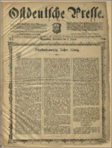 Ostdeutsche Presse. J. 10, 1886, nr 1
