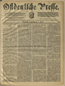 Ostdeutsche Presse. J. 10, 1886, nr 5