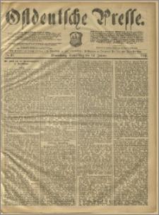 Ostdeutsche Presse. J. 10, 1886, nr 11