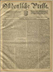 Ostdeutsche Presse. J. 10, 1886, nr 22