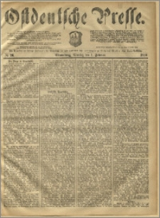 Ostdeutsche Presse. J. 10, 1886, nr 26
