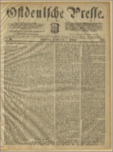 Ostdeutsche Presse. J. 10, 1886, nr 28