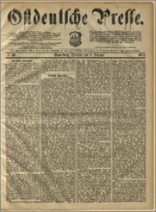 Ostdeutsche Presse. J. 10, 1886, nr 33