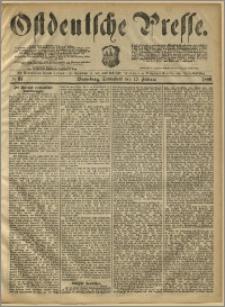 Ostdeutsche Presse. J. 10, 1886, nr 37