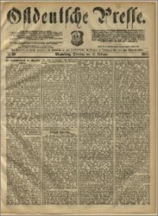Ostdeutsche Presse. J. 10, 1886, nr 39