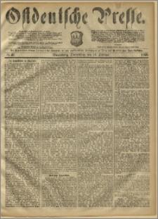 Ostdeutsche Presse. J. 10, 1886, nr 41