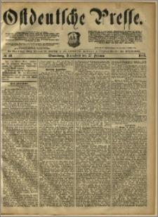 Ostdeutsche Presse. J. 10, 1886, nr 49