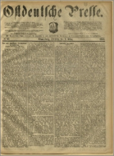 Ostdeutsche Presse. J. 10, 1886, nr 57