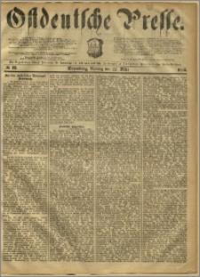 Ostdeutsche Presse. J. 10, 1886, nr 68