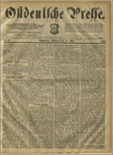 Ostdeutsche Presse. J. 10, 1886, nr 70