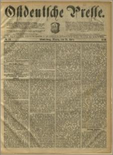 Ostdeutsche Presse. J. 10, 1886, nr 74