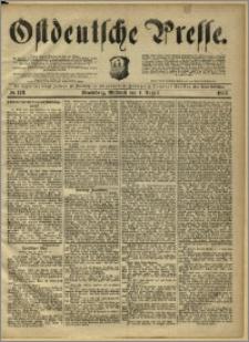Ostdeutsche Presse. J. 10, 1886, nr 178