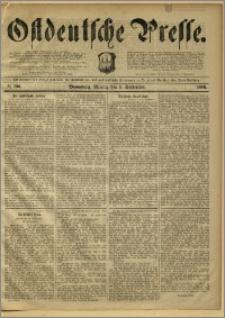 Ostdeutsche Presse. J. 10, 1886, nr 206