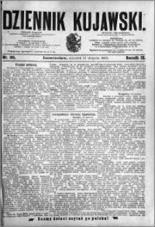 Dziennik Kujawski 1895.08.15 R.3 nr 185