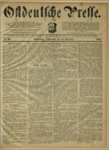 Ostdeutsche Presse. J. 10, 1886, nr 263