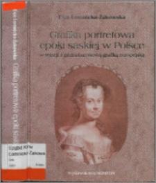 Grafika portretowa epoki saskiej w Polsce w relacji z późnobarokową grafiką europejską