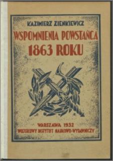 Wspomnienia powstańca 1863 roku