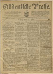 Ostdeutsche Presse. J. 11, 1887, nr 1