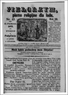 Pielgrzym, pismo religijne dla ludu 1871 nr 42