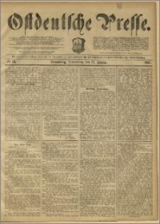 Ostdeutsche Presse. J. 11, 1887, nr 22