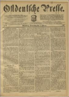 Ostdeutsche Presse. J. 11, 1887, nr 28