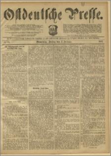 Ostdeutsche Presse. J. 11, 1887, nr 29