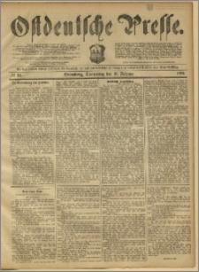 Ostdeutsche Presse. J. 11, 1887, nr 34