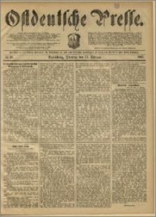 Ostdeutsche Presse. J. 11, 1887, nr 38