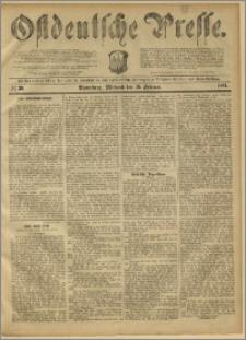 Ostdeutsche Presse. J. 11, 1887, nr 39