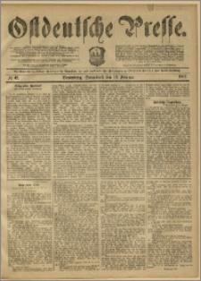 Ostdeutsche Presse. J. 11, 1887, nr 42